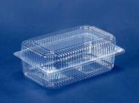 Контейнер пластиковый с откидной крышкой ПС-122 (V1700мл\230*130*87) (50 шт)