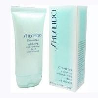 Очищающий гель для лица Shiseido - Green Tea Whitening 60 мл|escape:'html'