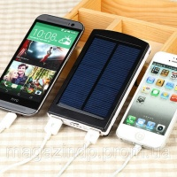 Солнечное портативное зарядное устройство Power Bank Solar 25000 mAh Код:302752270|escape:'html'