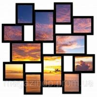 Мультирамка Большое Путешествие на 12 фото (Black) Код:118340