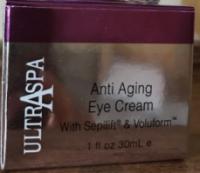 Антивозрастной мощный лифтинг крем для глаз Ultraspa с пептидами Sepilift ®&Voluform™, гиалуроновой кислотой, минералами|escape:'html'