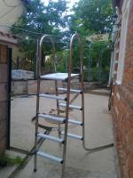 Лестница для каркасного бассейна 4 ступени|escape:'html'