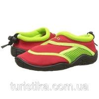 Тапочки для плавания и серфинга детские BECO красный/зелёный 92171 58 28|escape:'html'