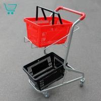Транспортировочные тележки для перевозки корзин 40 литров J