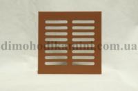 Решетка вентиляционная красная 120x140мм