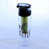 Бутылка с отделением для фруктов My Bottle, 350 мл Код:513272811
