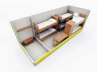 Бытовка строительная Модель ЕВРО 2|escape:'html'