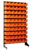 Стеллаж для метизов с ящиками для склада