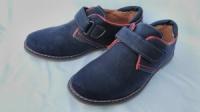 Туфли синие на мальчика на липучке, В6302-1, ТМ «Jong-Golf», размеры: 32, 33, 34, 35, 36, 37|escape:'html'