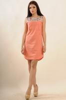Платье Бренди, персик|escape:'html'