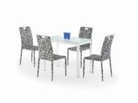 Стол со стеклянной столешницей «ARGUS белый + K169»|escape:'html'