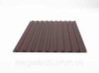 240161. Профнастил для даху шоколадний RAL8017 ПС-35 (2,7м*1,12м) 0,4 мм ТМ«ІНДАСТРІ»|escape:'html'