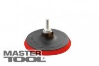 Диск для круга шлифовального 10 мм 125 мм М14+стержень MasterTool 08-6001|escape:'html'