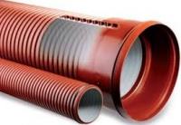Труба ПВХ гофрированная ф600 мм escape:'html'