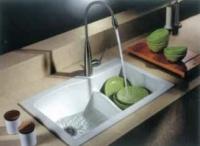 Гранитная кухонная мойка ALASKA 4