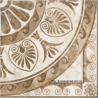Керама Марацци Триумф декор 1/4 розона 42х42 - Kerama Marazzi AR55/SG1117