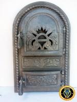 Дверца для печи, барбекю Королевская, печная дверца чугунная|escape:'html'