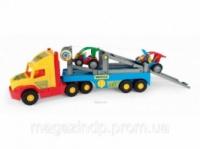 335719. Машина «Super Truck» з легковими авто Тигрес 36630 ТМ«MULTITOYS»