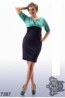 Женское стильное платье 48+ escape:'html'