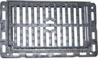 Дощоприймач полімерпіщаний, середній чорний 710х710 із замком В125 45 кг, реш.-600х600х50 , корпус-710 х 710 х 90, 12,5т|escape:'html'