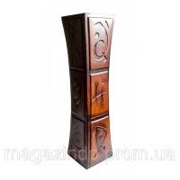 Ваза керамическая (18х18х70 см) Код:25424