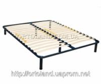 Каркас кровати металлический двуспальный 2000*1600 (6 опор) XL|escape:'html'