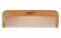 Расческа деревянная прямая Clarette