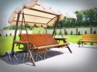 Садовые качели Texas-Luxe