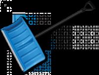 Лопата-плуг для уборки снега с алюминиевым профилем escape:'html'