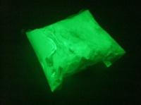 Люминофор - зеленое свечение, 100грамм