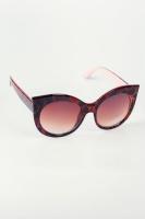 Очки солнцезащитные «кошачий глаз» AG-0003754 Коричнево-розовый