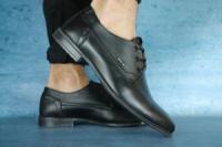 Мужские классические туфли Yuves Черные 10675|escape:'html'