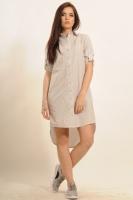 Платье-рубашка Дакота, беж escape:'html'