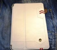 Чехол белый кожаный на планшет iPad mini retina от NEXTOUCH|escape:'html'