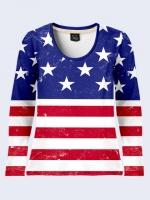 Лонгслив Флаг США|escape:'html'