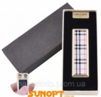 USB зажигалка в подарочной упаковке (Две спирали накаливания, Кожа) №4863-3 Код:627504440|escape:'html'