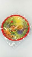 Тарелка бумажная 19см«Гном»  10шт (1 пач)