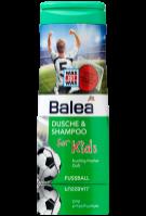 Balea 2 в 1 Детский гель для душа + шампунь «Футбол» 300 мл.|escape:'html'