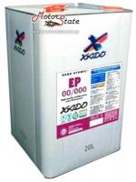 XADO Смазка ЕР 00/000 Полужидкая смазка для централизованных систем смазки 1кг escape:'html'
