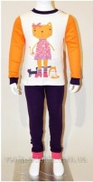 Яркая пижама для девочки  от ТМ Yaloo. 100% хлопок, рибана 98-122 см|escape:'html'