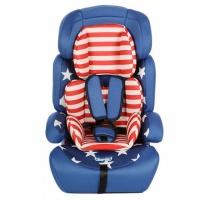Детское автокресло универсальное 9-36 кг Star синее|escape:'html'