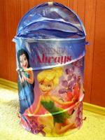 Корзина для игрушек Динь-Динь Disney Fairies в сумке новая!
