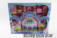 Будинок «F» 8080-2(1271030) (24шт/2) світло,муз,с 2 ляльки, меблі, в кор. 42*9*34см|escape:'html'