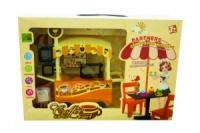 Мебель коричнева  «Кафе» 127-1/2/3/4 стол,стулья,аксесс, в кор.40*11|escape:'html'