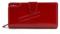 Деловая женская барсетка с большим количеством отделов качественной эко кожи BAELLERRY art. 2503 красный
