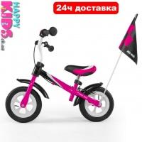 Беговел Milly Mally Dragon DELUX (Польша) для детей от 2 до 4 лет (до 20кг)|escape:'html'