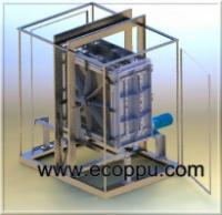 Установка для производства вакуумного пенопласта. escape:'html'