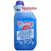Незамерзающая жидкость-концентрат Turtle Wax Liquid Fire -80С 1 л