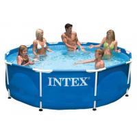 Круглый каркасный бассейн Intex 305х76 см (28200) escape:'html'