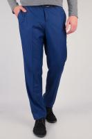 Брюки классические мужские, низ брючин не обработан AG-0002498 Синий